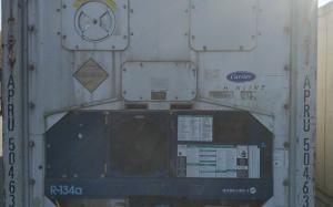 Рефрижераторний контейнер Carrier 40 фут 2003 року випуску APRU504636-1