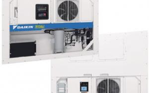 The new Daikin LXE Series refrigerated container unit