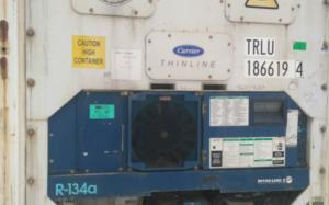 Рефрижераторний контейнер Carrier 40 фут 2002 року випуску TRLU186619-4