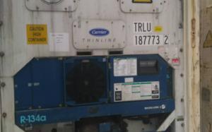 Рефрижераторный контейнер Carrier 40 фут 2002 года выпуска TRLU187773-2