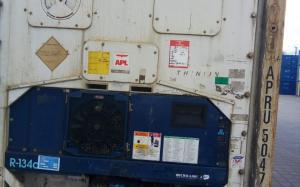 Рефрижераторный контейнер Carrier 40 фут 2003 года выпуска APRU504724-4