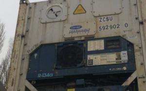 Reefer container Сarrier 40 feet 2001 Odessa reeferc27