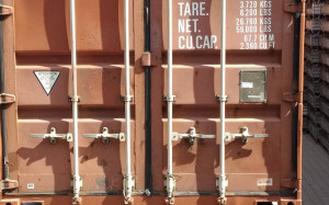Морской сухогрузный контейнер 40 тонн