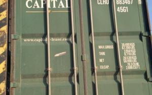 Морський контейнер 40 футів 2003 року CLHU 883467-6