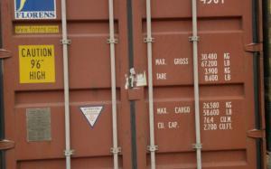 Увеличенный морской контейнер 40 футов