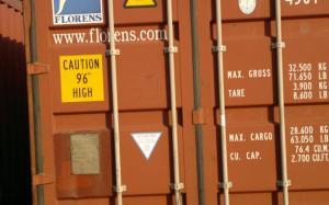 40-футовый сухогрузный контейнер бу
