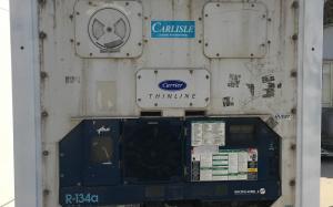 5 футовый морозильный реф контейнер Carrier