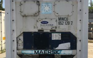 Изотермический реф контейнер 10 футов Carrier