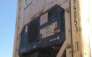 Reefer container Сarrier 40 feet 2000 Odessa reeferc1008