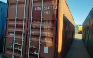 Морской контейнер  40 футов под бытовку