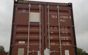Высокий 40-футовый морской контейнер
