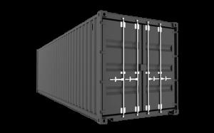 Новый морской сухоргрузный контейнер