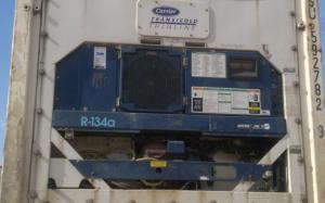 Reefer container Сarrier 40 feet 2001 Odessa reeferc1023