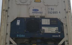 Reefer container Сarrier 40 feet 2001 Odessa reeferc1040
