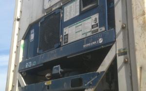 Reefer container Сarrier 40 feet 2001 Odessa reeferc1027