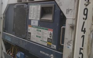 Реф контейнер Сarrier Thinline бу 40 футов 2000 Одесса ZCSU 594154-0