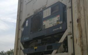 Reefer container Сarrier 40 feet 2000 Odessa reeferc1029
