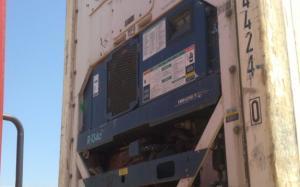 Reefer container Сarrier 40 feet 2000 Odessa reeferc1018