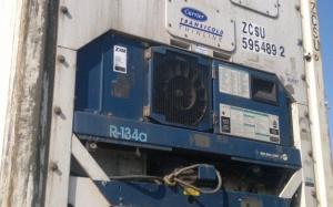 Reefer container Сarrier 40 feet 2001 Odessa reeferc1044