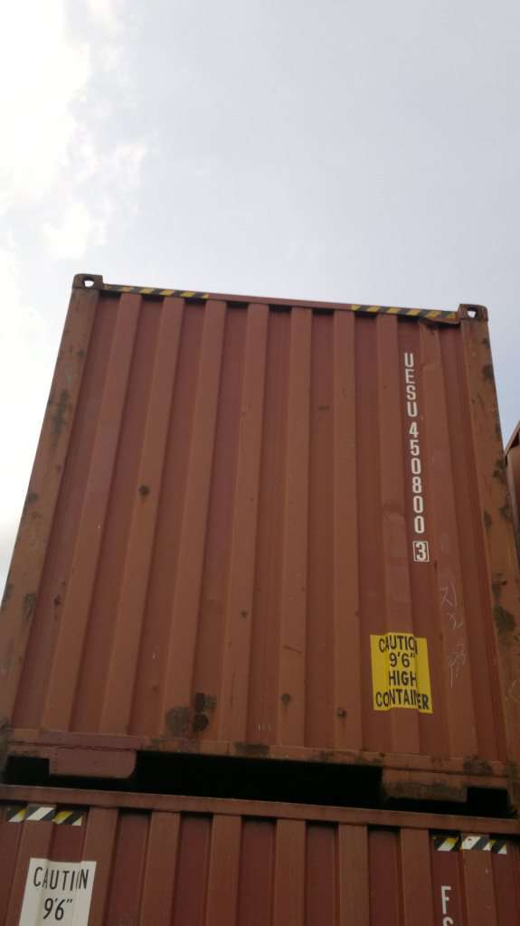 Dry container 40 feet | GCS - Global Container Service